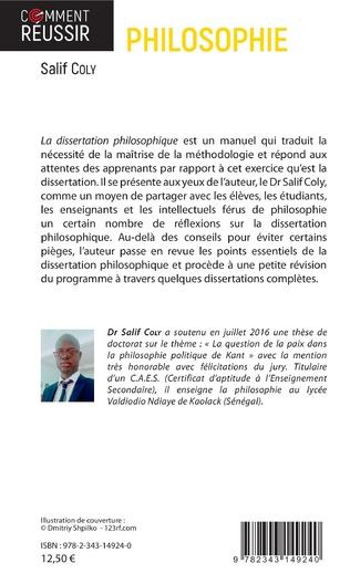 4eme La dissertation philosophique