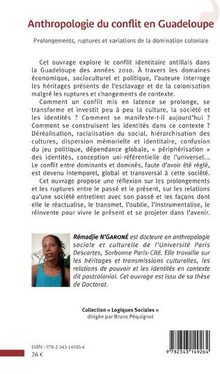 4eme Anthropologie du conflit en Guadeloupe