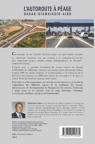 4eme L'autoroute à péage Dakar - Diamniadio - Aibd