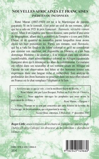 4eme Nouvelles africaines et françaises