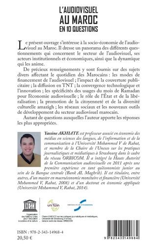 4eme L'audiovisuel au Maroc en 10 questions
