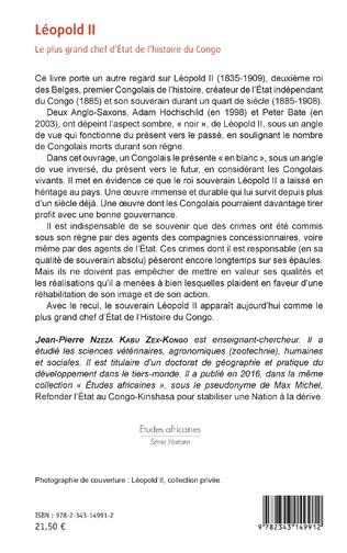 4eme Léopold II Le plus grand chef d'Etat de l'histoire du Congo