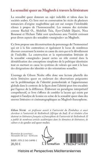 4eme La sexualité queer au Maghreb à travers la littérature