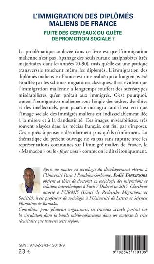 4eme L'immigration des diplômés maliens de France