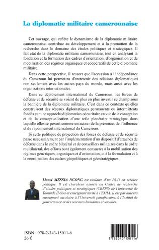 4eme La diplomatie militaire camerounaise