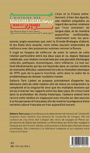 4eme L'histoire des relations entre l'Iran et la France
