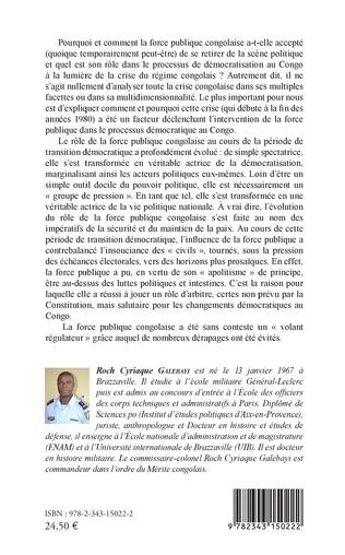 4eme La force publique congolaise et le renouveau démocratique au Congo