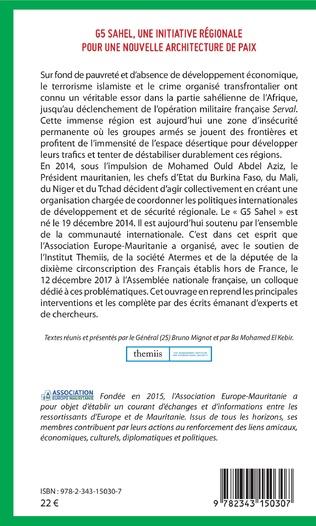 4eme G5 Sahel, une initiative régionale pour une nouvelle architecture de paix