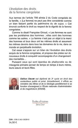 4eme L'évolution des droits de la femme congolaise