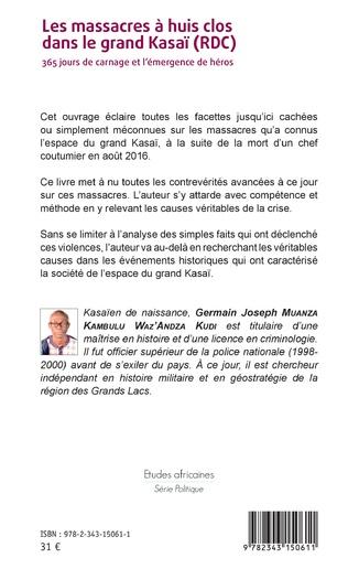 4eme Les massacres à huis clos dans le grand Kasaï (RDC)