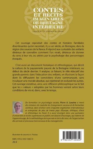 4eme Contes et récits imaginaires de Bretagne intérieure