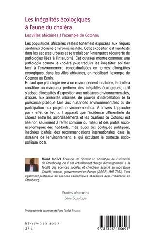 4eme Les inégalités écologiques à l'aune du choléra