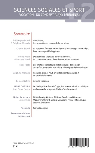4eme Sciences sociales et sport