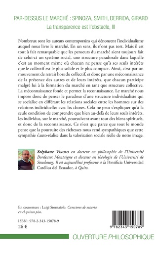 4eme Par-dessus le marché : Spinoza, Smith, Derrida, Girard