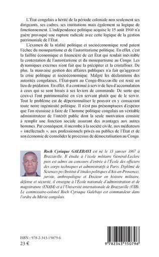 4eme La crise politique au Congo-Brazzaville
