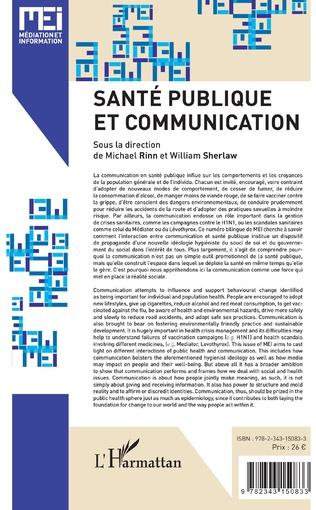 4eme Santé publique et communication