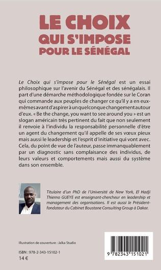 4eme Le choix qui s'impose pour le Sénégal