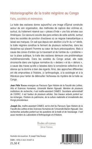 4eme Historiographie de la traite négrière au Congo