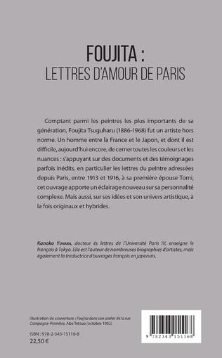 4eme Foujita : lettres d'amour de Paris