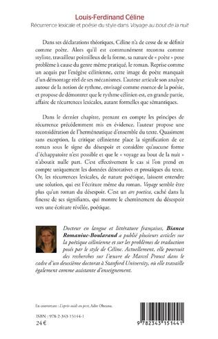 4eme Louis-Ferdinand Céline