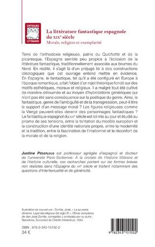 4eme La littérature fantastique espagnole du XIXe siècle