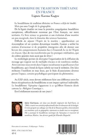 4eme Bouddhisme de tradition tibétaine en France