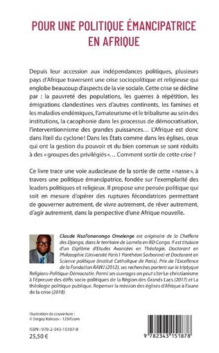 4eme Pour une politique émancipatrice en Afrique