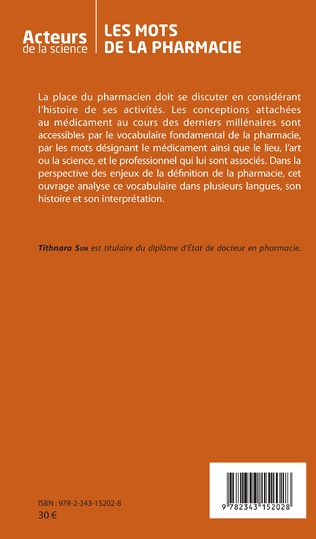 4eme Les mots de la pharmacie