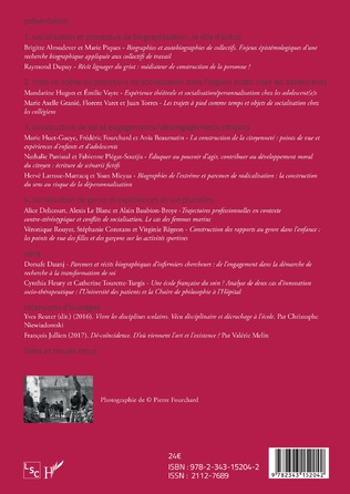 4eme Les activités de socialisation : expériences plurielles et biographies singulières