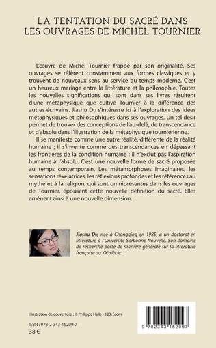 4eme La tentation du sacré dans les ouvrages de Michel Tournier