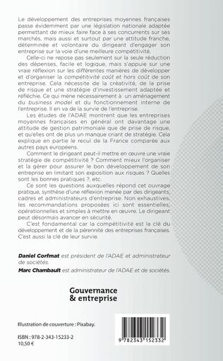 4eme Compétitivité et développement des entreprises moyennes françaises