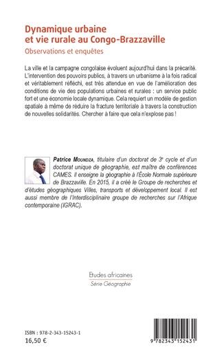 4eme Dynamique urbaine et vie rurale au Congo-Brazzaville