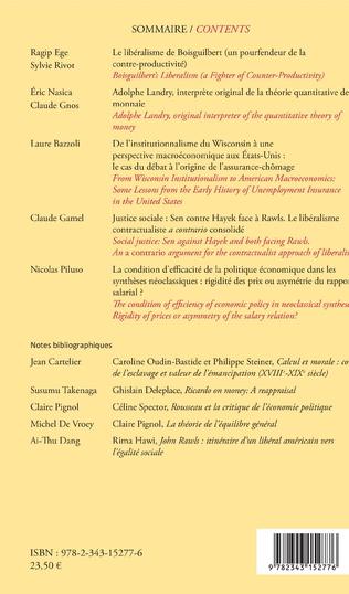 4eme Cahiers d'économie politique 74