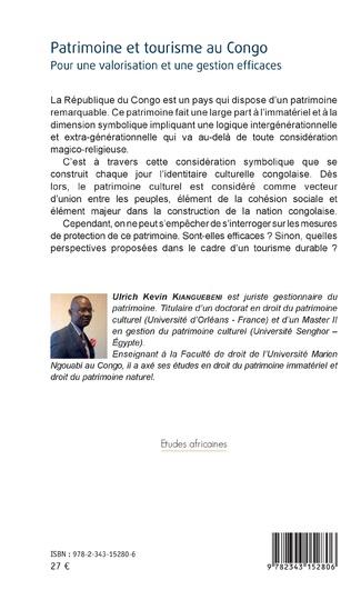 4eme Patrimoine et tourisme au Congo