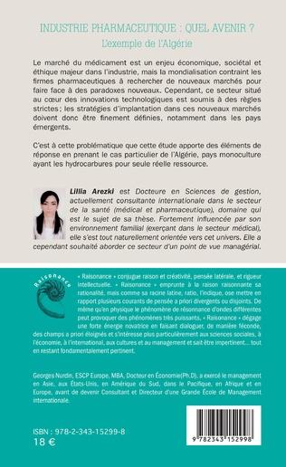 4eme Industrie pharmaceutique : quel avenir ?