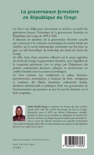 4eme La gouvernance forestière en République du Congo