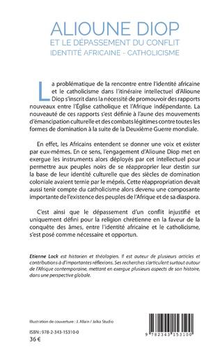 4eme Alioune Diop et le dépassement du conflit identité africaine - catholicisme