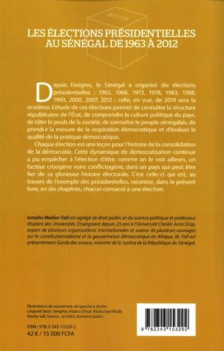 4eme Les élections présidentielles au Sénégal de 1963 à 2012