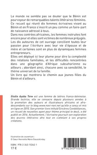4eme Dix femmes écrivaines du Bénin