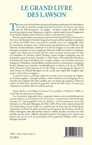 4eme Le grand livre des Lawson tome1 (1841-1877)
