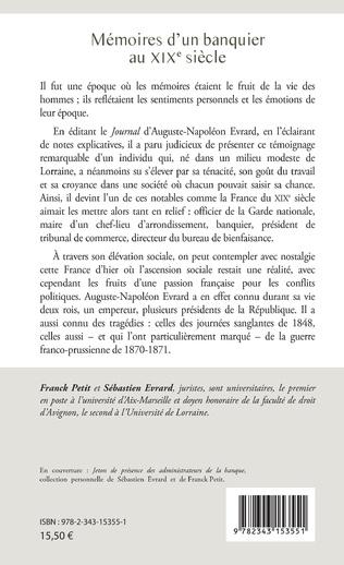4eme Mémoires d'un banquier au XIXe siècle