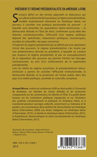 4eme Président et régime présidentialiste en Amérique latine