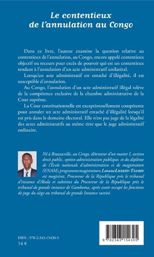 4eme Le contentieux de l'annulation au Congo