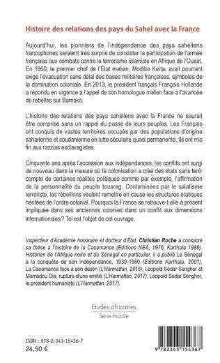4eme Histoire des relations des pays du Sahel avec la France