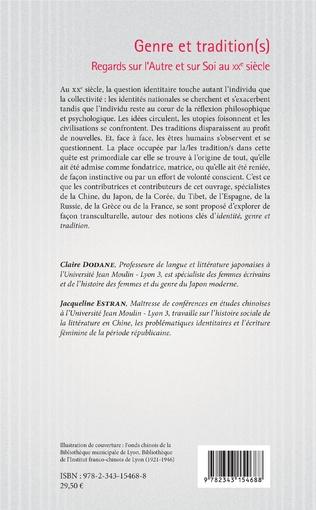4eme Genre et tradition(s)
