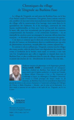 4eme Chroniques du village de Tengnule au Burkina Faso
