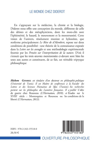 4eme Le monde chez Diderot