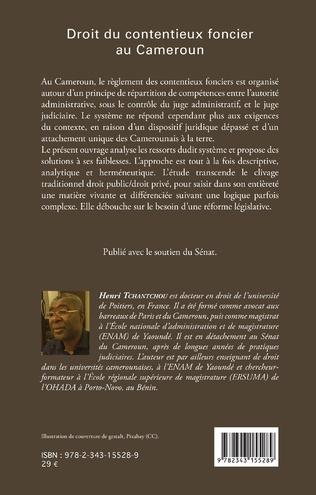 4eme Le droit du contentieux foncier au Cameroun