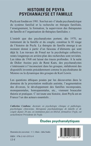 4eme Histoire de psyfa psychanalyse et famille
