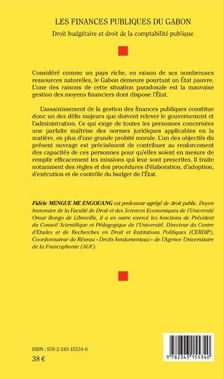 4eme Les finances publiques du Gabon